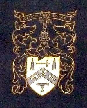 Worshipful Company of Plumbers - Coat of arms of the Worshipful Company of Plumbers