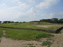 The ancient mound at Lothal.JPG