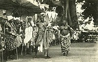The celebration at Abomey(1908). - Dance of the Fon chiefs.jpg