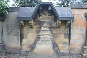 James Gowans (architect) - The grave of Sir James Gowans, Grange Cemetery
