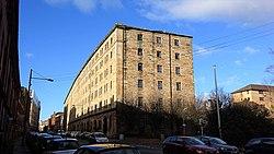 The old G&SWR College Goods Yard warehouse, Glasgow, Scotland.jpg