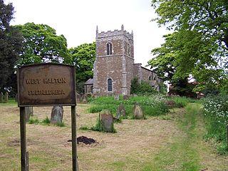 West Halton village in the United Kingdom