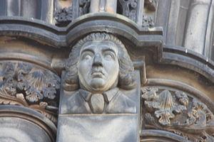 James Beattie (poet) - The poet James Beattie as depicted on the Scott Monument