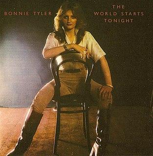 <i>The World Starts Tonight</i> 1977 studio album by Bonnie Tyler