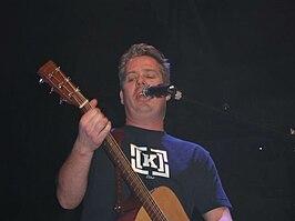 Thomas Acda tijdens een concert in Vredenburg, Utrecht