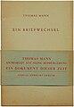 Thomas Mann Ein Briefwechsel 1937.jpg