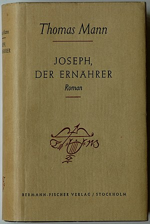 Joseph and His Brothers - Cover of the first edition of part 4 (1943)