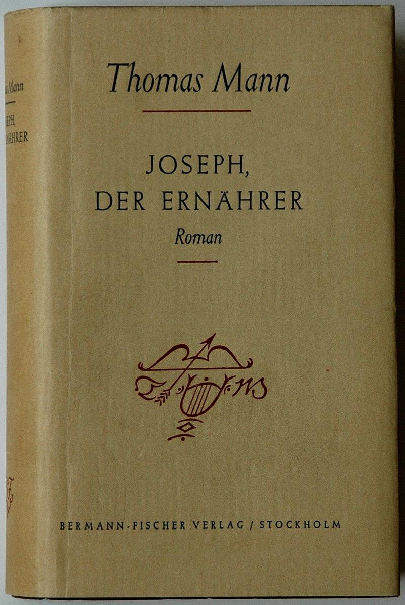 Thomas Mann Joseph, der Ernährer 1943.jpg