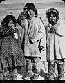 Three young Native girls, Yukon River, circa 1910 (AL+CA 6708).jpg