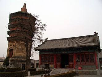 Anyang - Image: Tianning Temple