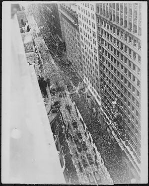Bremen (aircraft) - Celebratory parade in New York City (April 30, 1928)