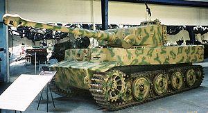 Musée des Blindés - Tiger I.