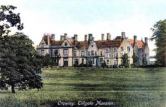 Alexander Nix - Tilgate House in Crawley, former estate of the Ashburner Nix family