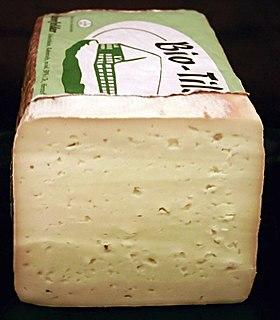 Havarti Danish creamy semi-soft cows milk cheese