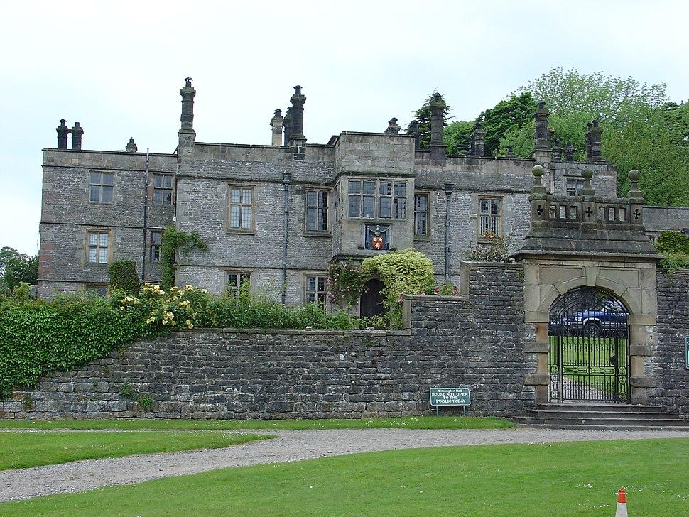 Tissington Hall front