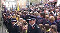 Tiverton , Angel Hill on Remembrance Sunday - geograph.org.uk - 1573745.jpg