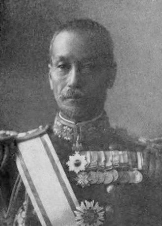 Governor of the South Pacific Mandate - Image: Togo Kichitaro