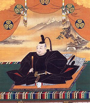 Ukiyo-e - Tokugawa Ieyasu established his government in the early 17th century in Edo (modern Tokyo). Portrait of Tokugawa Ieyasu, Kanō school painting, Kanō Tan'yū, 17th century