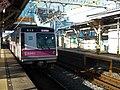 Tokyo Metro 8000 series 8006 at Satte Station.jpg