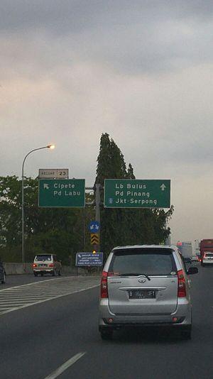 Jakarta Outer Ring Road - Jakarta Outer Ring Road in Cipete