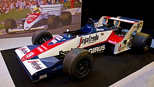 Toleman TG183 - Image: Toleman TG183B left 2012 Autosport International