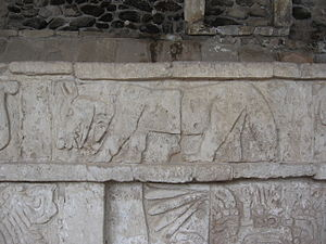 Coyote - Toltec pictograph of coyote.
