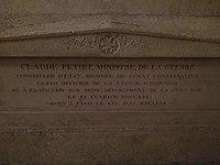 Tomb of Claude-Louis Petiet in Panthéon.jpg
