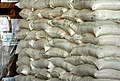 Tons of food and equipment fill a hangar at Pakistan Air Force Base Chaklala, Pakistan, Aug. 28, 2010, in support of flood relief efforts 100828-F-KV470-009.jpg