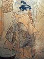 Torii kiyomine, donne e bamnbine con bambole e decorazioni di bambù e pino del nuovo anno, 1850-1860s, 06.JPG