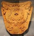 Toscana, peduccio in terracotta, inizi del XVI sec., con pegaso che cita il tempio di marte ultore, 01.JPG