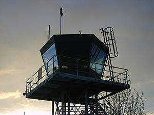 Soest-Bad Sassendorf Airfield - Image: Tower