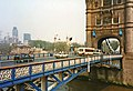 Tower Bridge from the South Bank, London in 1989 - geograph.org.uk - 877671.jpg