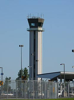 Tower at Buffalo airport.JPG