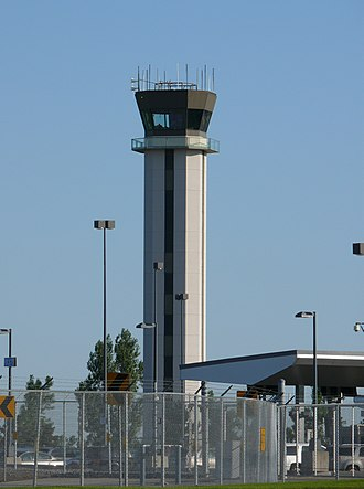 Buffalo Niagara International Airport - Buffalo Niagara Control Tower