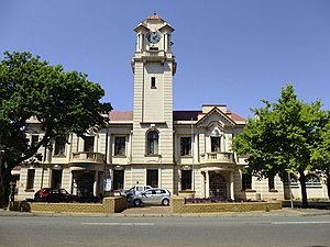 Potchefstroom - Town Hall, Potgieter Street
