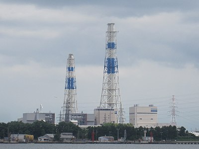 Picture of 富山新港火力発電所 (Toyama Shinko Thermal Power Station)