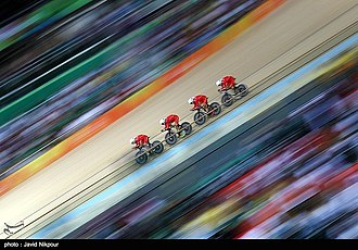 Cycling at the 2016 Summer Olympics – Men's team pursuit - China team