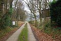 Track to Old Shoyswell Manor - geograph.org.uk - 1105858.jpg