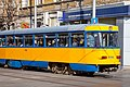 Tram in Sofia near Central mineral bath 2012 PD 064.jpg