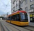 Tram in Warsaw, Pesa Jazz 134N n°3822 - back.jpg