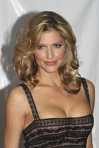 Tricia Helfer at Scream Awards 2007