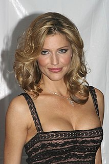 Tricia Helfer Canadian actress and model