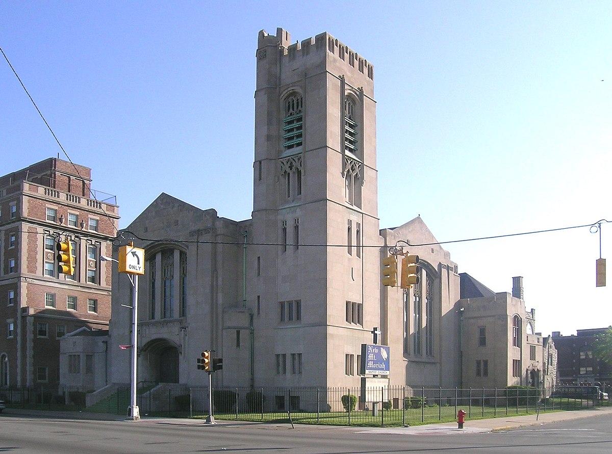 Highland Park Church Of The Nazarene Car Show