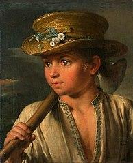 Мальчик с топориком