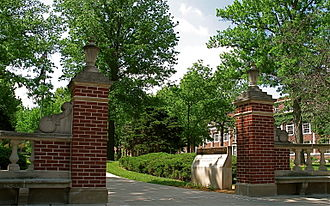 Truman State University - North Entrance on East Normal Street