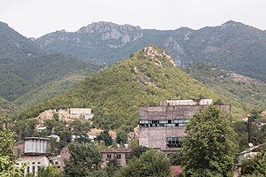 Tumanyan, Armenia - Tumanyan fireproof materials factory