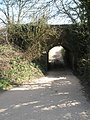 Tunnel under the railway at Idsworth - geograph.org.uk - 1230242.jpg