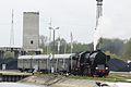 Ty42 107, 2013, Parowozem przez Wielkopolske (Cigacice Port, Odra river) (6).JPG