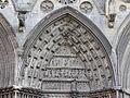 Tympan nord cathédrale Bayeux.JPG
