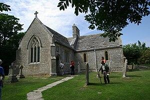 Tyneham - Image: Tyneham church